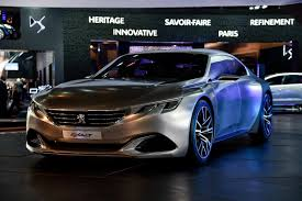peugeot executive car peugeot exalt concept wears its euro knickers for paris