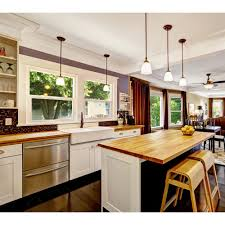 bamboo kitchen island shop q solutions company cb bamboo island top at lowe s canada find