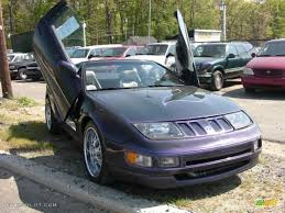 nissan convertible black 1996 deep purple metallic nissan 300zx convertible 29404449 photo