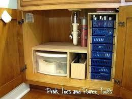 under kitchen sink storage ideas under cabinet storage storage under kitchen sink kitchen sink