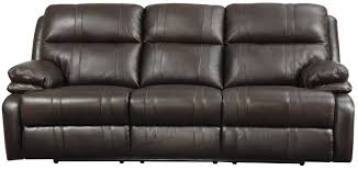 Power Leather Reclining Sofa by Happy Leather Company 1286 Power Reclining Sofa With Soft Pillow