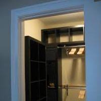 pictures of small walk in closet ideas page 2