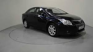 cars toyota black used 2009 toyota avensis used cars for sale ni shelbourne
