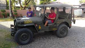 military jeep side view 1945 willys military jeep for sale luzon bulacan philippines