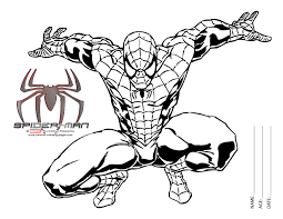 spiderman pictures color