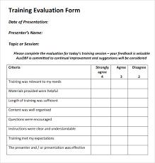 sample program evaluation form volunteer feedback evaluation form