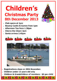 children u0027s christmas party panmure yachting and boating club