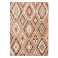 Pink And White Striped Rug Pink And Gray Vintage Wool Rug Threshold Target