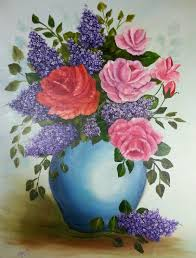 magnificent beautiful painting of flowers contemporary images for