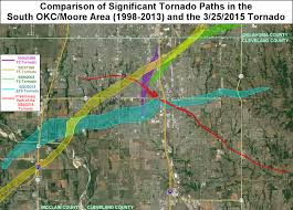 okc zip code map the march 25 2015 southwest oklahoma city ef2 tornado