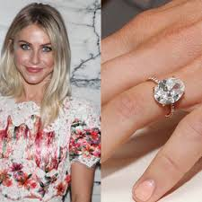 celebrity engagement rings instyle co uk