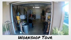 Building A Garage Workshop by One Car Garage Workshop Tour Youtube