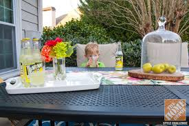 Decorating Small Patio Ideas Small Patio Decorating Ideas By Kelly Of View Along The Way
