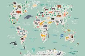 safari kids map wall mural milexa what our customers say