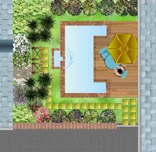 modele jardin contemporain exemple plan jardin modéle d u0027aménagement paysagé page numero un