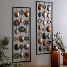 wall decor pretty ideas metal wall decor sculpture clocks panels plaques