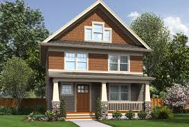 Homes For Narrow Lots Joyous Narrow Lot House Plans Craftsman 9 Plans Building Small
