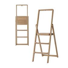 Oak Ladder Bookcase by Shelf Design Trendy Oak Shelf Ladder Storage Furniture