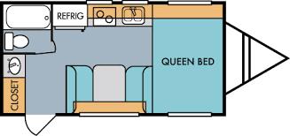 Small Rv Floor Plans Retro Travel Trailer Floorplans Riverside Rv