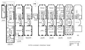 new york city townhouse floor plans homepeek