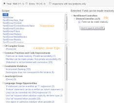 resharper server detecting code issues build net