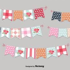 shabby chic bunting archives my graphic hunt
