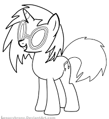 my little pony dj pon coloring pages dylan pinterest pony