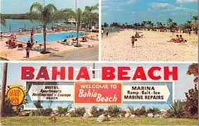 Ruskin Florida Map by Ruskin Florida Bahia Beach Quality Inn Vintage Postcard J14583
