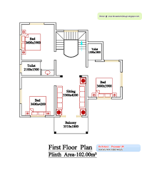 kerala style floor plan and elevation 6 kerala home design and