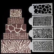 Chandelier Cake Stencil Cupcake Stencils Cake Decorating Ebay