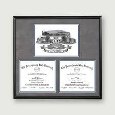 of illinois diploma frame alumni artwork diploma frame