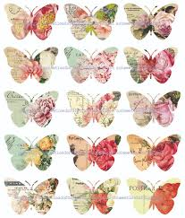collage clipart butterfly pencil and in color collage clipart