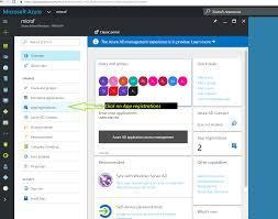 creating the application client id and client secret from