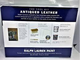 amazon com ralph lauren antiqued leather paint tool kit