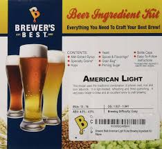 american light lager recipe amazon com brewers best american light home brewing ingredient kit