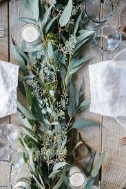 stunning greenery wedding table runners 4