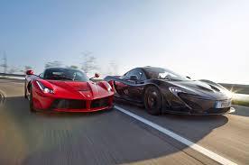mclaren vs hybrid is the fast laferrari vs mclaren p1