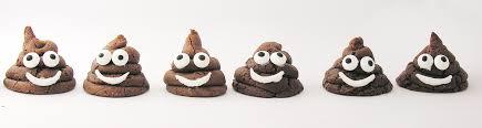 chocolate emoji chocolate u201cpoo u201d emoji cookies easybaked
