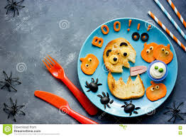 halloween party ideas for kids monster toast with pumpkin oli