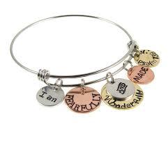 bible verse jewelry fearfully and wonderfully made bangle bracelet