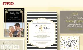 wedding invitations staples staples in city md groupon