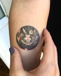 jdm sun tattoo 20 miniature and modern circle tattoos by eva krbdk circle