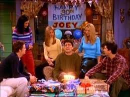 Friends Birthday Meme - friends joey 30th birthday meme generator