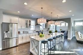 One Wall Kitchen With Island Designs Kitchen On One Wall With Island One Wall Contemporary Kitchen With