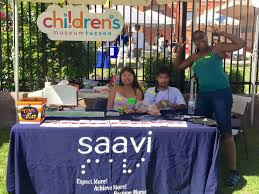 Community Services For The Blind Saavi Services For The Blind Had A Booth Saavi Services For