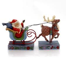 Jim Shore Christmas Sleigh With Ornaments by Jim Shore Sbkgifts Com