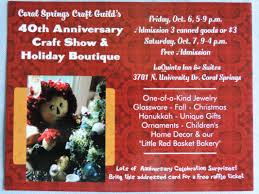 Red Coral Home Decor by Coral Springs Craft Guild Holiday Fall Craft Show 2013