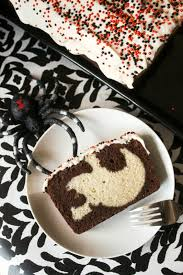Halloween Chocolate Cake Recipe Peek A Boo Halloween Pound Cake The Kitchen Prep Blog