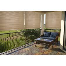Outdoor Bamboo Shades For Patio by Lewis Hyman Malibu Cream Outdoor Indoor Roll Up Shade By Lewis