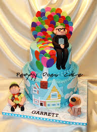 Movie Themed Cake Decorations Up Cake
